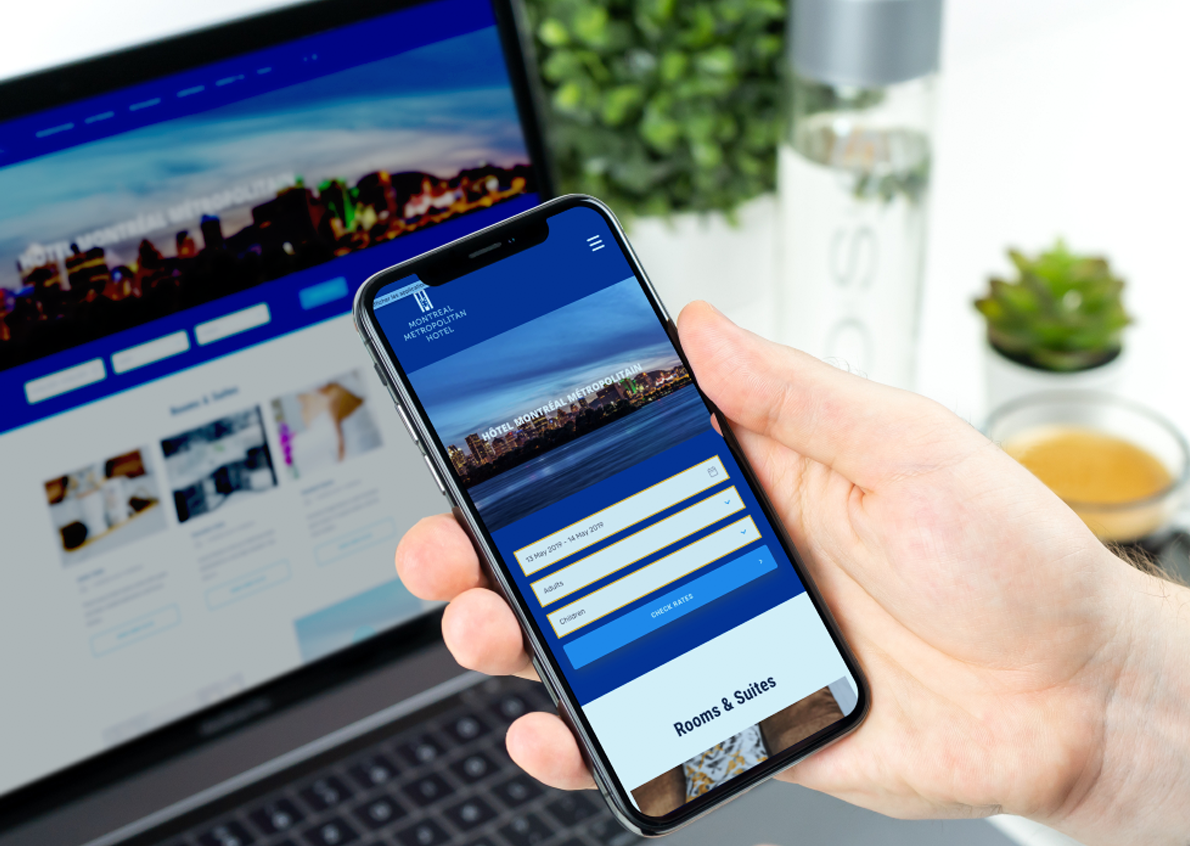 Hotel Montreal Métropolitain, a member of the Best Western chain, trusts us for its launch strategy and its 360 ° communication
