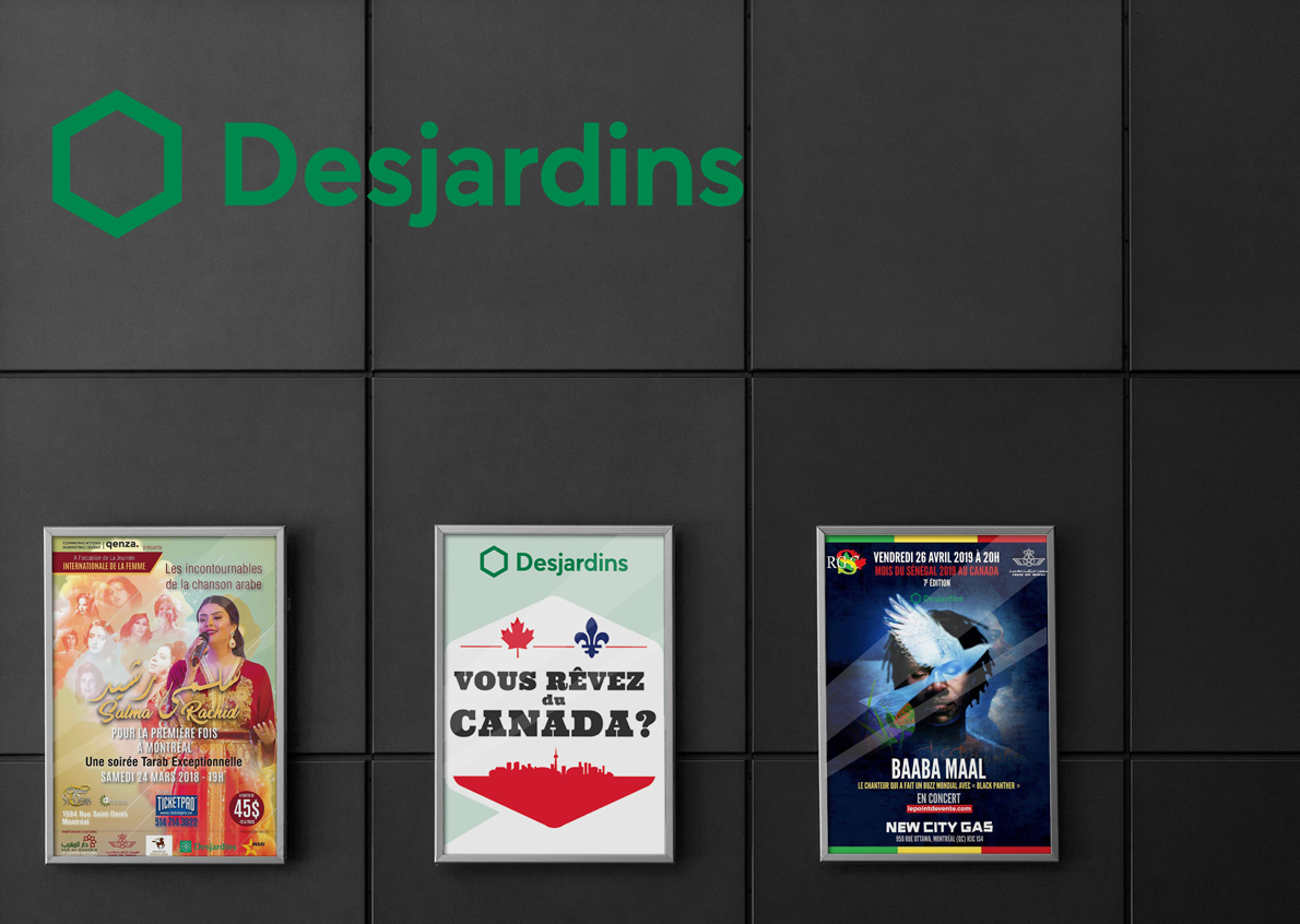 Proud to have Desjardins as a partner and believe in us for its international missions