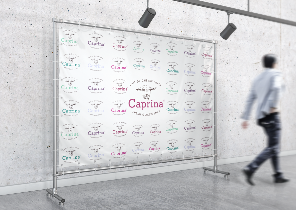 For a good visibility in their events, Caprina chose us