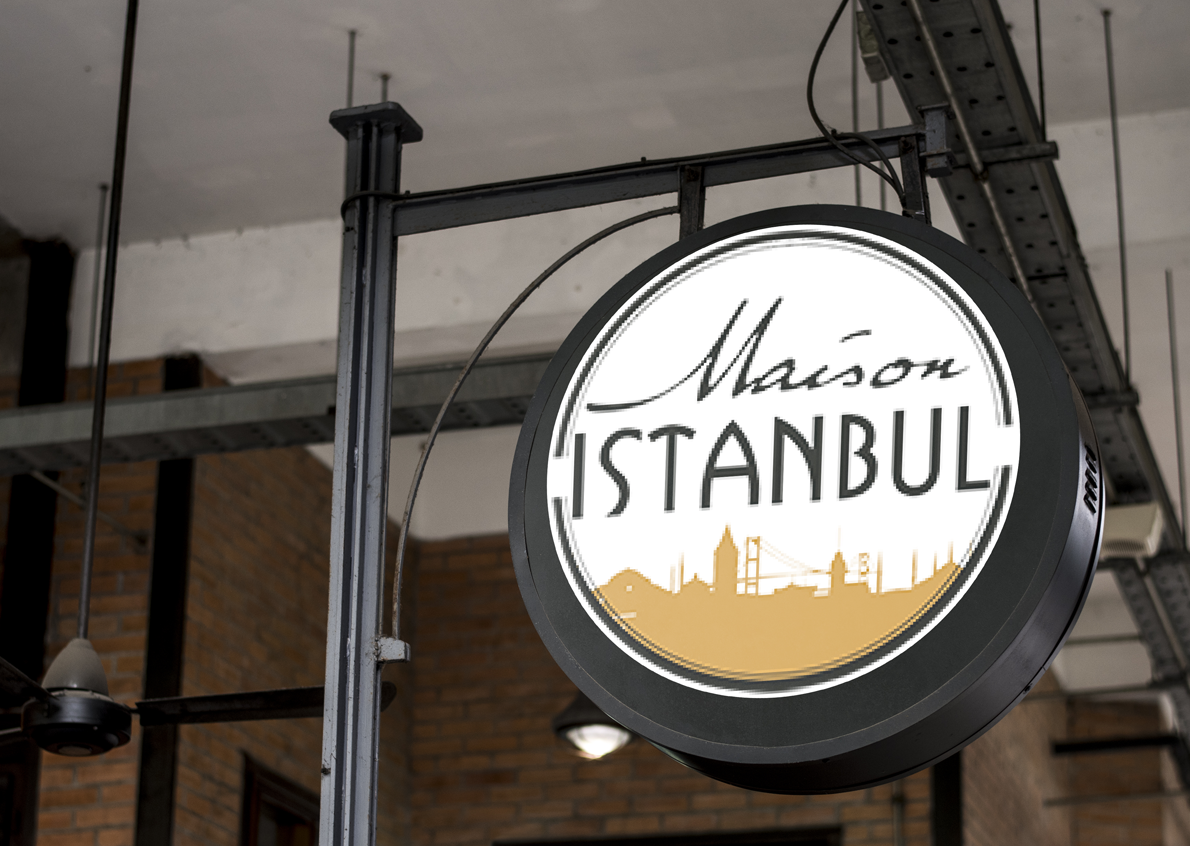 Realization of the visual identity of the Maison Istanbul franchise, which already has 3 locations in Montreal and 1 in Ontario
