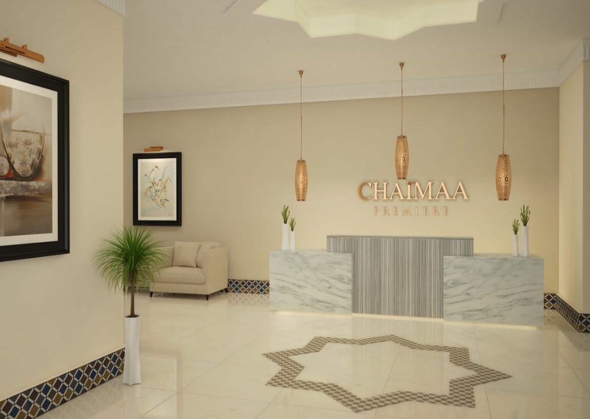 Chaimaa holding gave us free rein in the creation of a modern visual for their hotel