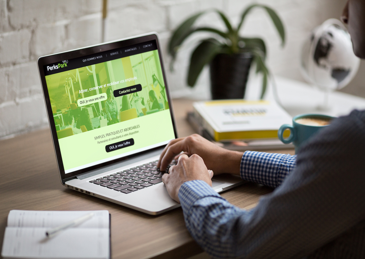 PerksPark has also entrusted us with the creation of a modern and efficient website