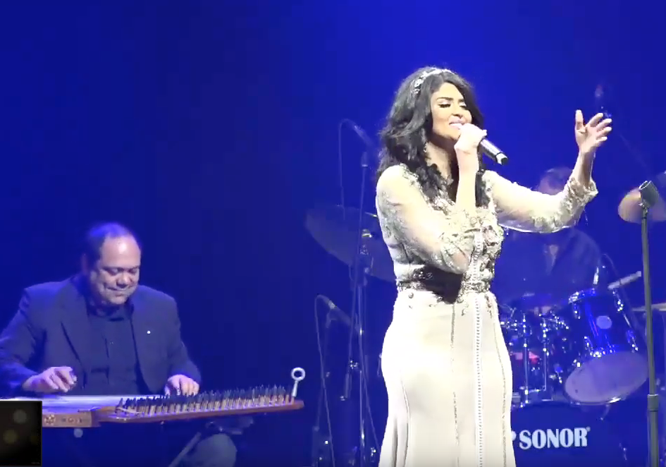 The Star Salma Rachid in Saint Denis Theater and for the first time in Montreal